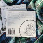 "CD ""Game of Drones"" - Booklet Rückseite mit Trackliste"