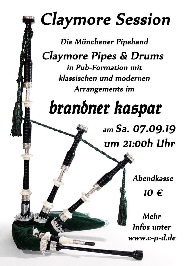 """Session im """"Brandner Kaspar"""""""
