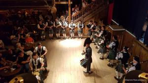 Auftritt in der Music Hall bei den Highland Games 2017 in Pullman City