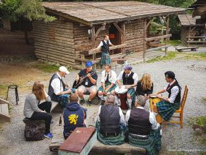 Session am Nachmittag bei den Highland Games 2017 in Pullman City
