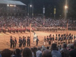 Deutschland Military Tattoo2018 in der Arena auf Schloss Kaltenberg.